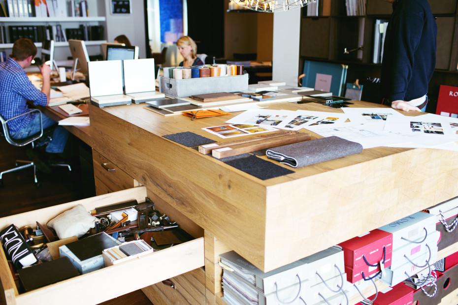 Freunde von Freunden — Philipp Hoflehner — Creative Director at Bernd Gruber Interior Architecture, Studio, Kitzbühel — http://www.freundevonfreunden.com/workplaces/philipp-hoflehner/