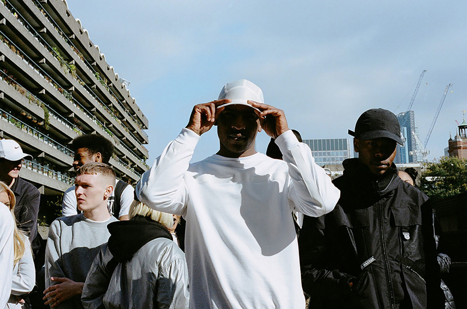 Skepta's Shutdown Video Shoot, The Barbican Centre - 2015