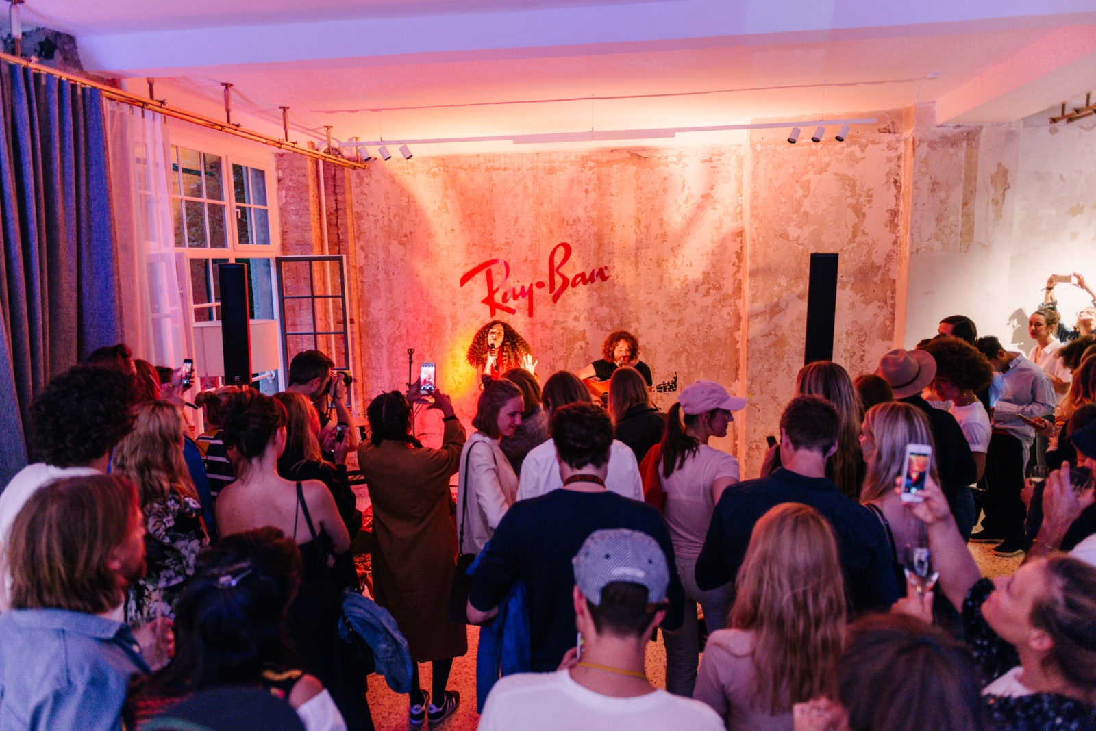 Ray-Ban  Product launch and private concert by Joy Denalane ... b779ae0fcb