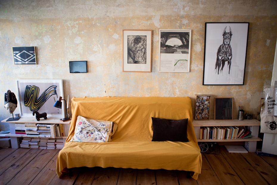 Freunde von Freunden — Rebecca Lamarche-Vadel — Curator and art  critic, Apartment, Berlin-Mitte — http://www.freundevonfreunden.com/fr/interviews/rebeccalamarche-vadel/