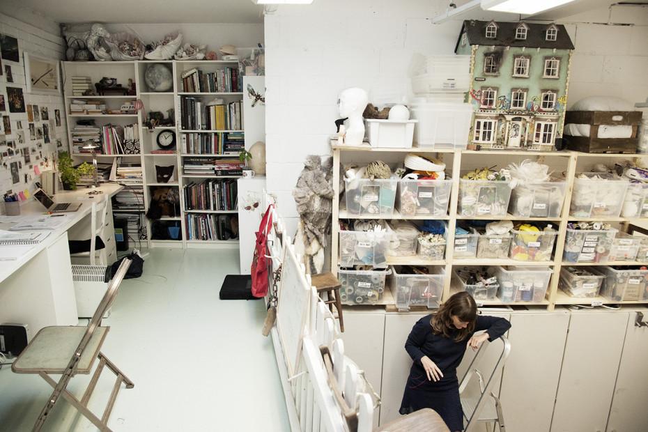 Freunde von Freunden — Rhea Thierstein — Set Designer, Studio, North London — http://www.freundevonfreunden.com/workplaces/rhea-thierstein/