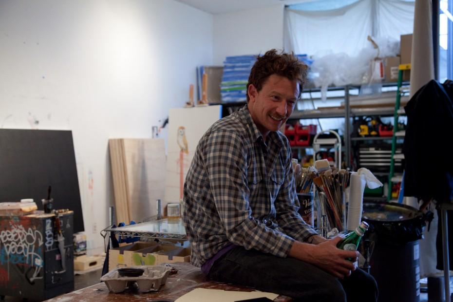 Freunde von Freunden — (English) Sage Vaughn — Artist, Studio, Pasadena, Los Angeles —