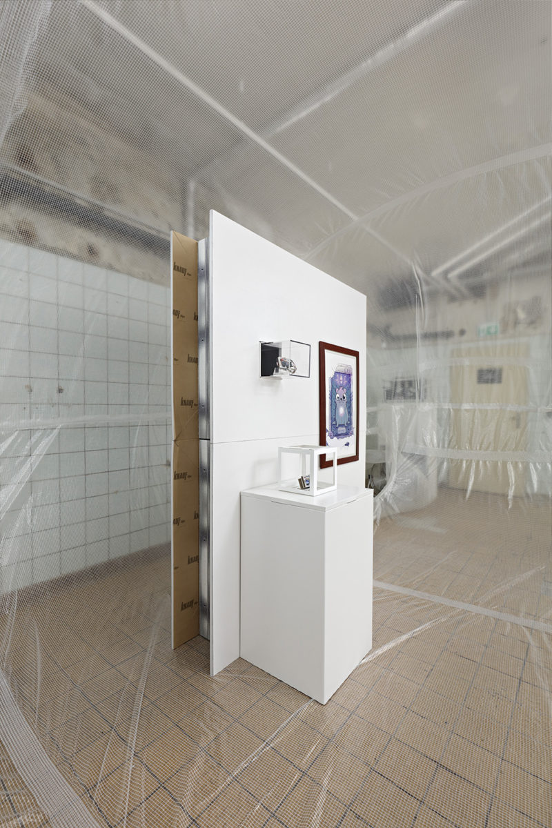 Installation view from Proof of Work at Schinkel Pavillon, Berlin