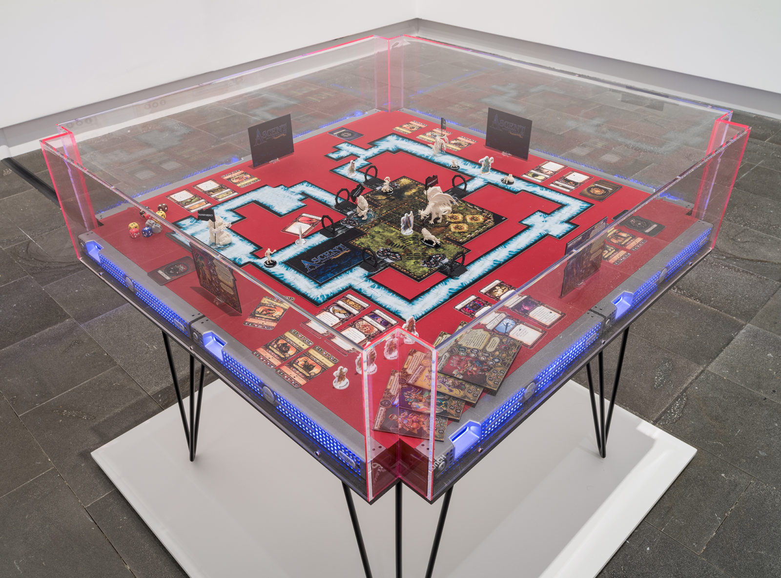 Installation view from The Founders Paradox at Christchurch Art Gallery, Christchurch