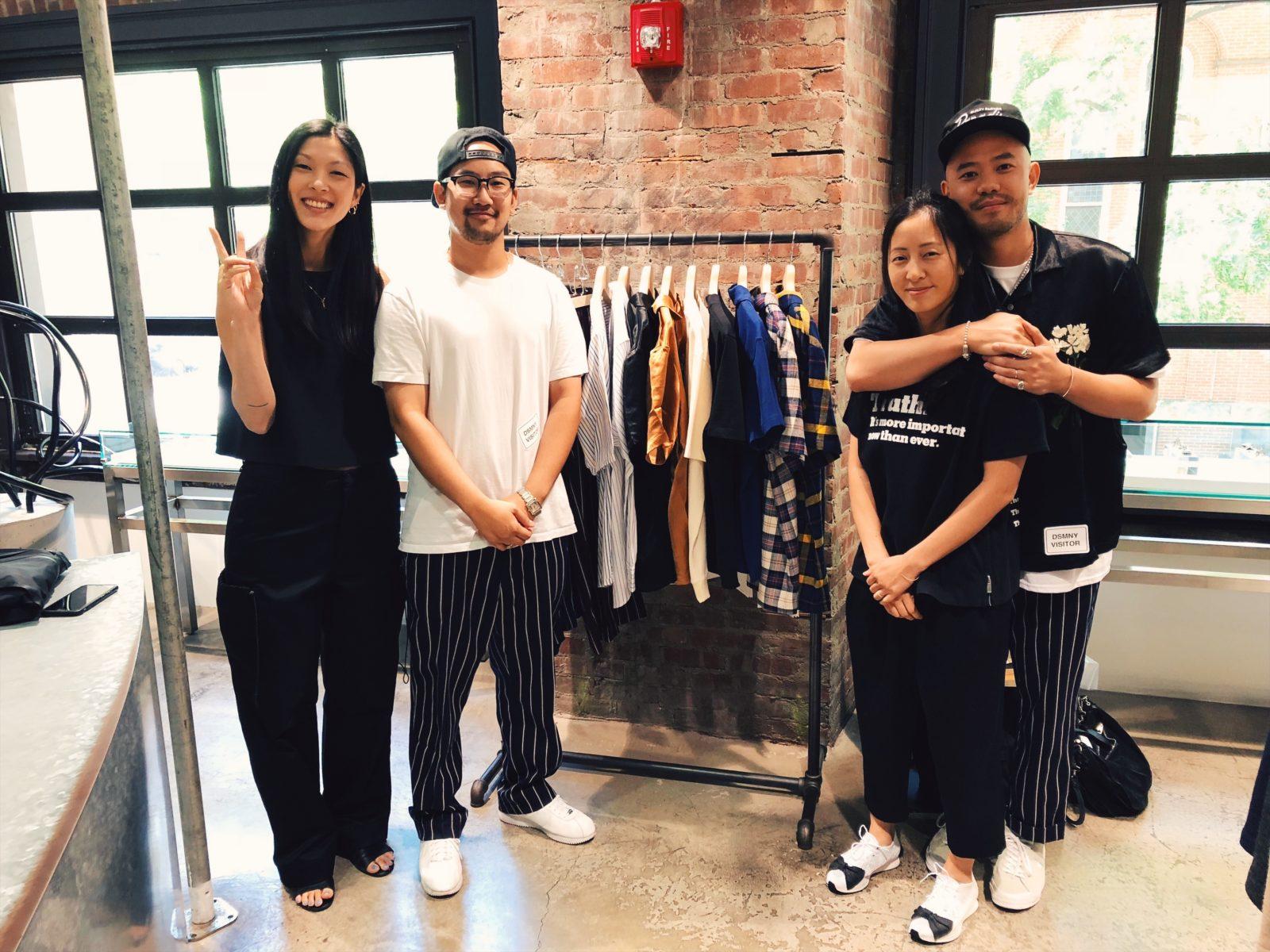 Left to Right: Julia Chu, Calvin Nguyen, Christina Chou, Caleb Lin