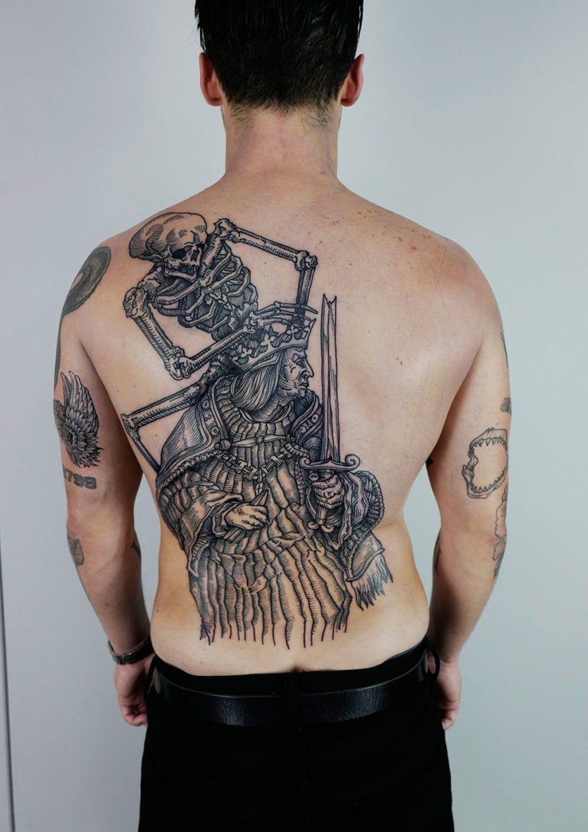 Maxime is a leading talent in the tattoo world with over a decade of experience