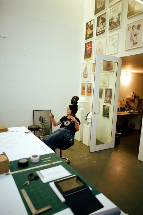 Freunde von Freunden — Tim Noble & Sue Webster — Artists, Studio, Shoreditch, London — http://www.freundevonfreunden.com/workplaces/tim-noble-and-sue-webster/