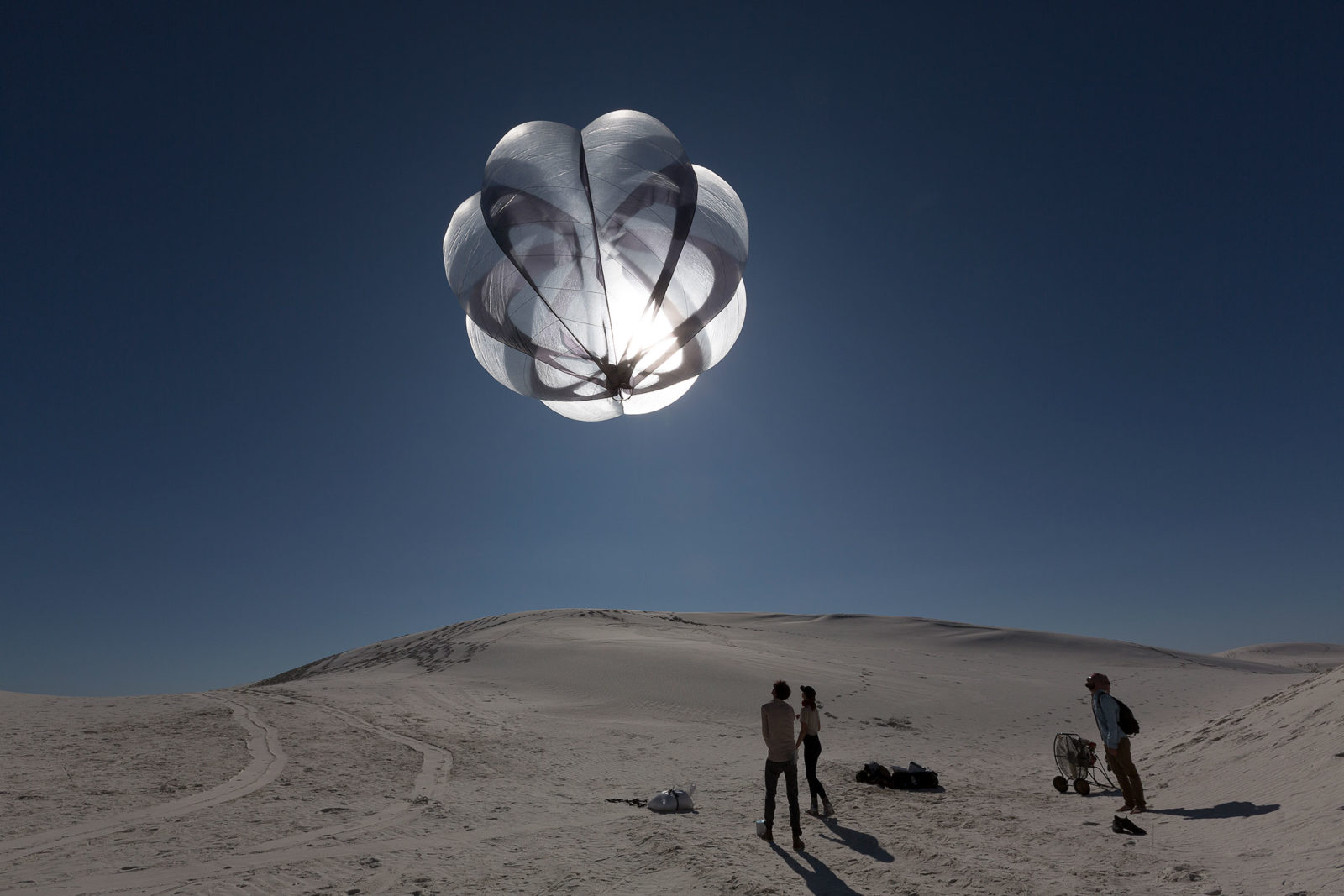 D-O AEC Aerocene, launch in White Sands, 2015, Photography: Studio Tomás Saraceno