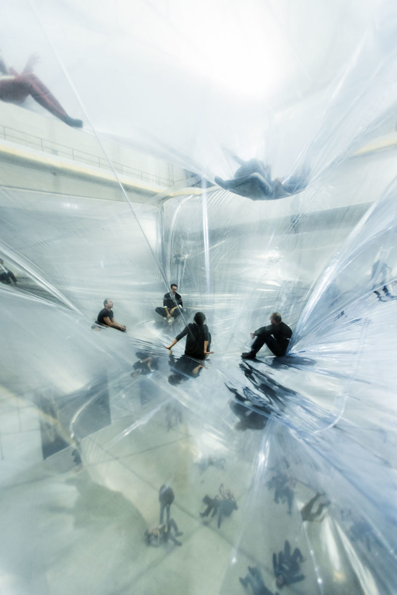 Tomás Saraceno, On Space Time Foam, 2012, Photography: Alessandro Coco
