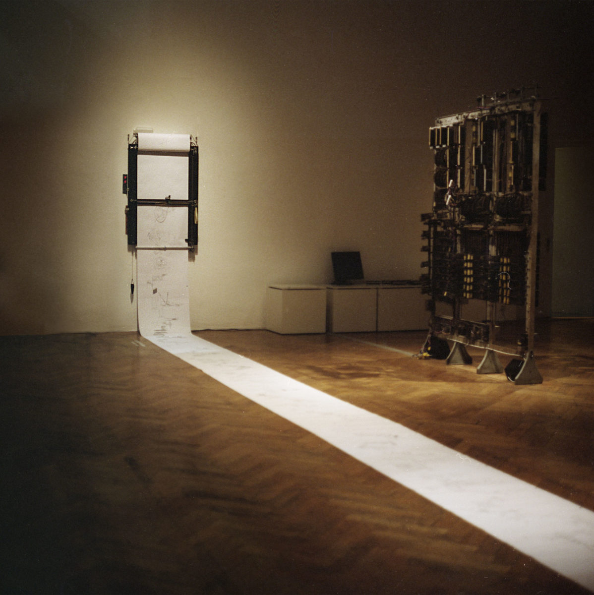Perpetual Storytelling Apparatus, 2008, in cooperation with Benjamin Maus, courtesy the artists and alexander levy, Berlin