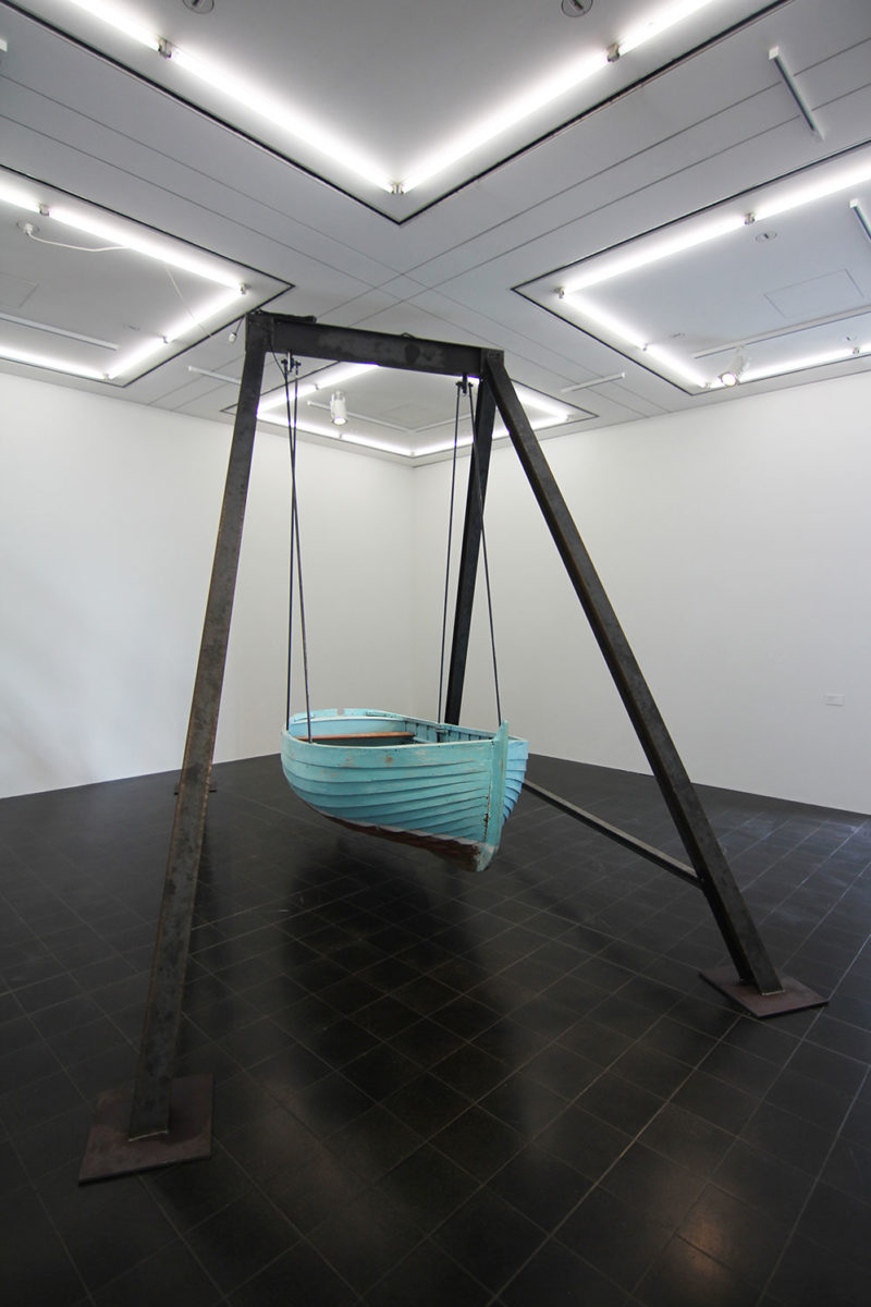 Hoch und Runter, 2014, installation view Hamburger Kunsthalle, Germany, courtesy alexander levy, Berlin