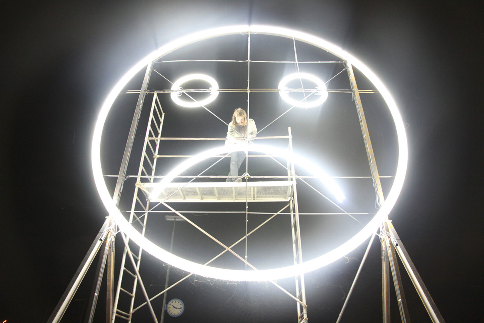 Public Face, 2010,  in cooperation with Benjamin Maus and Richard Wilhelmer, courtesy the artists and alexander levy, Berlin