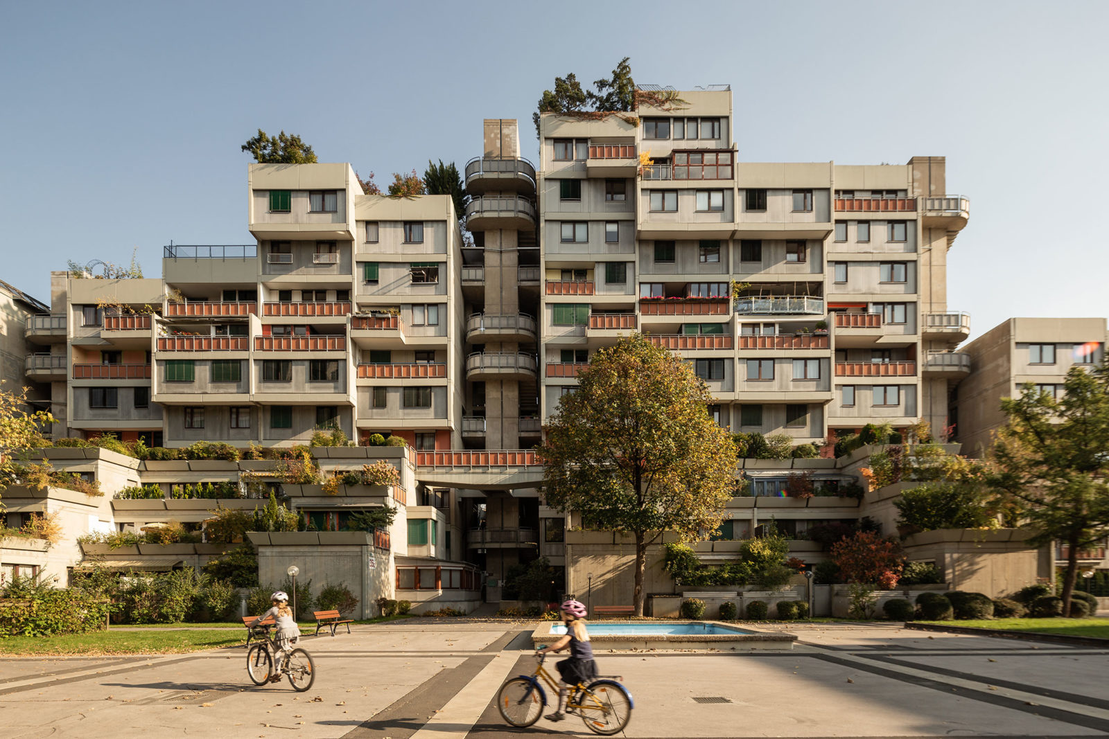 Terassenhaus, Graz – A 70s communal housing project that remains as popular as ever