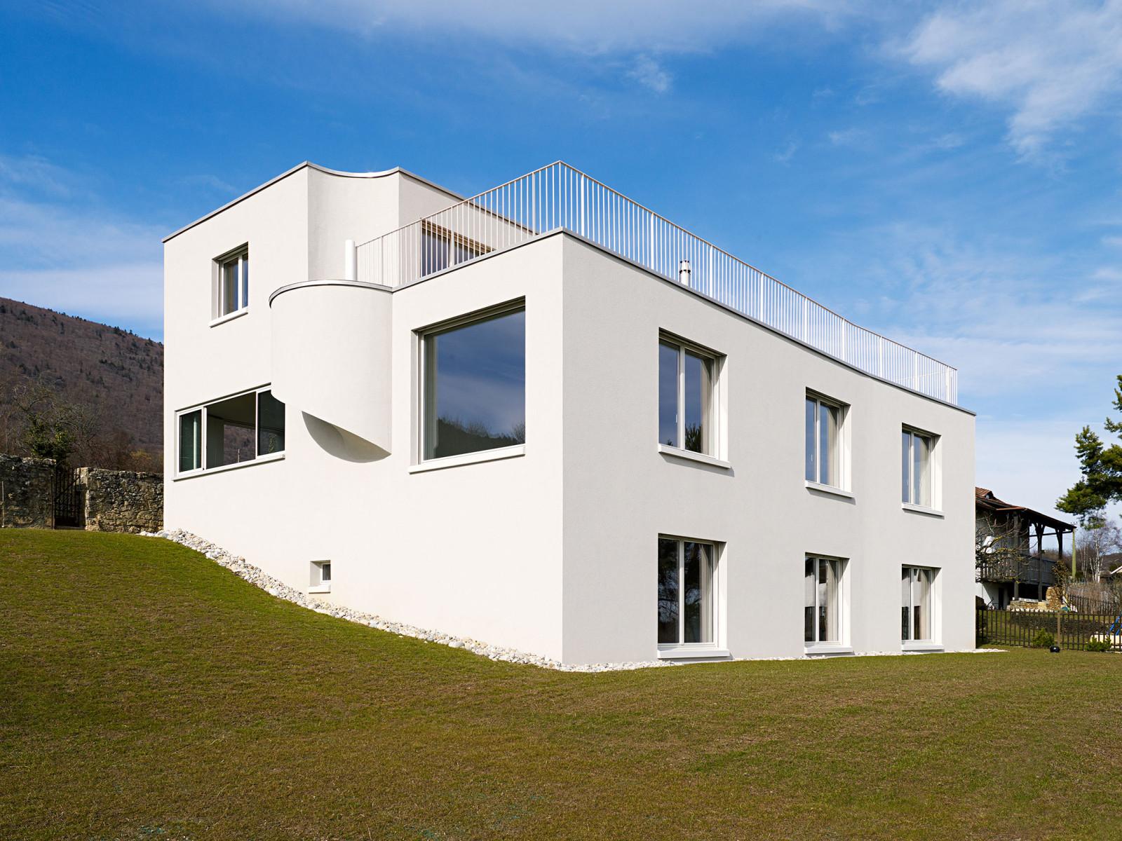 Villa C, Neuchâtel, 2010 Foto: Michel Bonvin