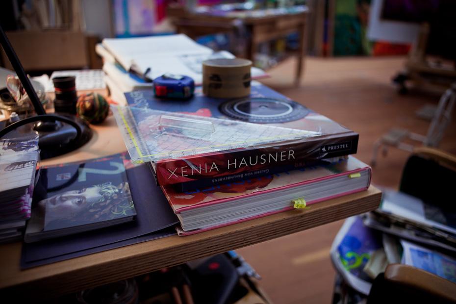 Freunde von Freunden — Xenia Hausner — Künstlerin,  Atelier, Berlin-Prenzlauer Berg — http://www.freundevonfreunden.com/de/interviews/xenia-hausner/